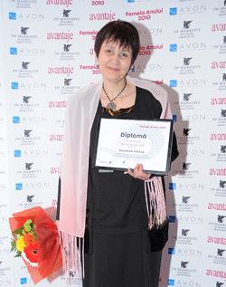 Eleonora Pokola, Femeia anului 2010