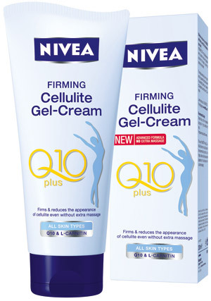 Gel-crema anticelulitic NIVEA Q10 plus