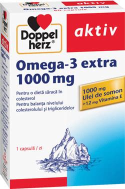 Capsulele Omega-3 de la Doppelherz