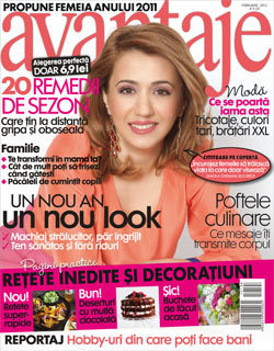 Simona Gherasim, Revista Avantaje