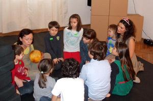 Ioana Ginghina, atelier de teatru pentru copii