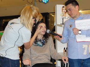 Ioana Ginghina, make up BIO