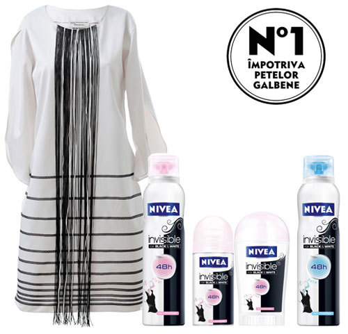 Gama NIVEA Invisible for Black & White