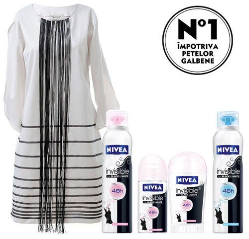 Gama NIVEA Invisible for Black & White