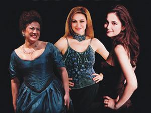 Teodora Gheorghiu, Leontina Vaduva, Ruxandra Donose