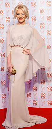 Laura Cosoi, rochie Stephan Pelger