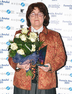 Femeia Anului, Olga Cridland