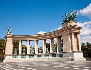 Budapesta, Piata Eroilor