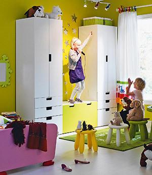 Camera copiilor, Ikea