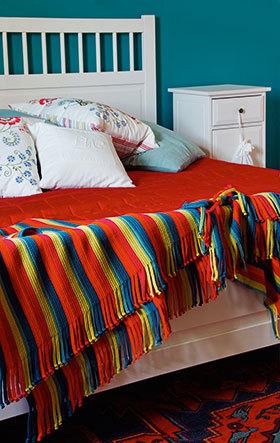 Dormitor, Rustic