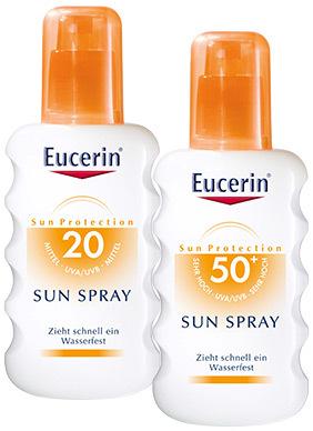 Sprayurile pentru protectie solara SPF 20 si SPF 50+