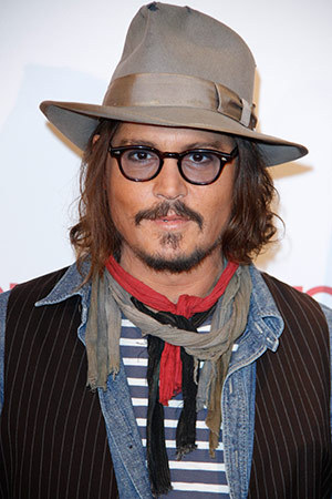 Johnny Depp, actor