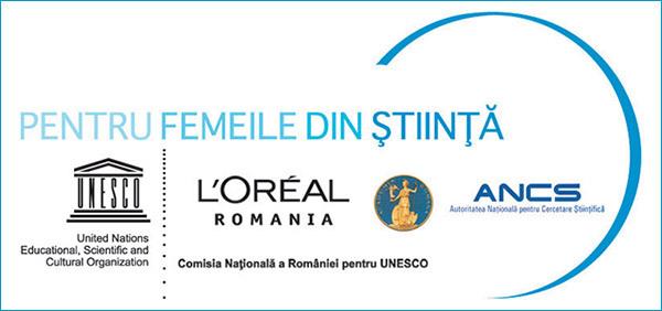"""Programul UNESCO-L'Oréal """"Pentru Femeile din Stiinta"""""""