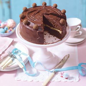 Tort de ciocolata si caramel