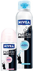 Nivea Invisible for Black White