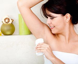 deodorante antiperspirante