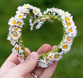 inima din flori