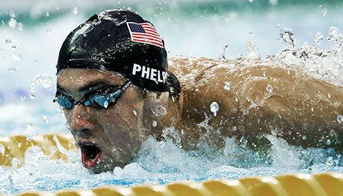Michael Phelps, inotator