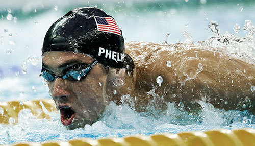 Michael Phelps, inotator