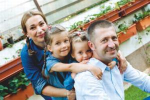 Andreea Tocan si familia