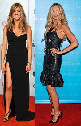 Jennifer Aniston; Elle MacPherson