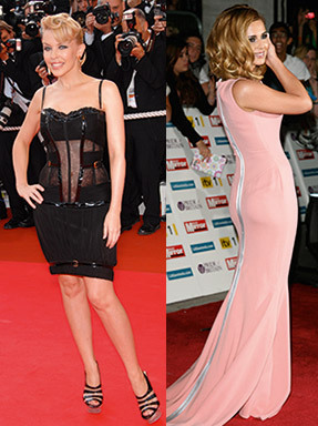 Kylie Minogue; Cheryl Cole