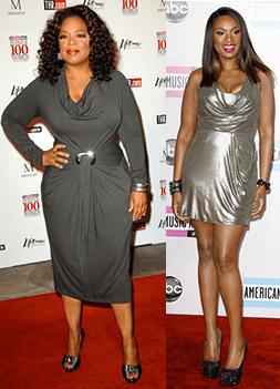 Oprah; Jennifer Hudson