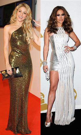 J-Lo; Shakira