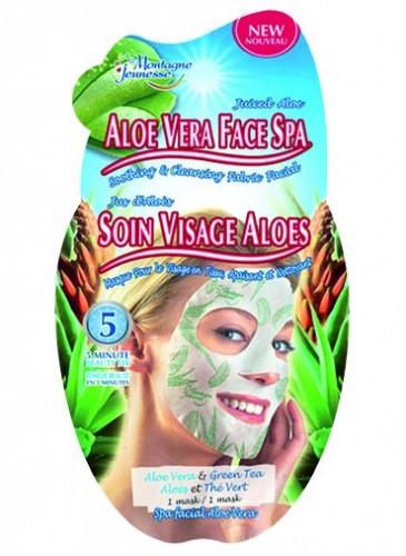 1- Montagne Jeunesse Aloe Vera Face Spa