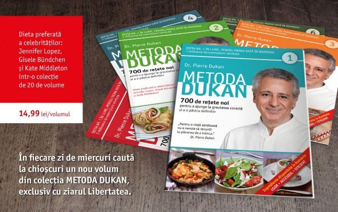 Colectia METODA DUKAN_Editura Litera