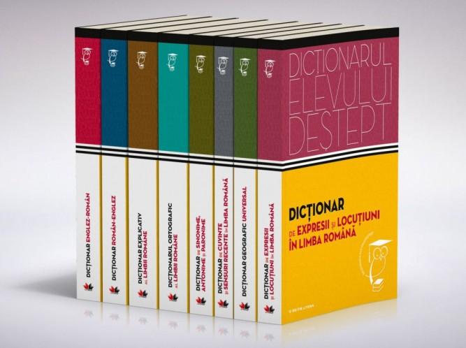 Dictionarul elevului destept (set, cotoare)