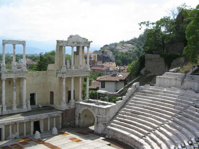 Antique Theatre _Plovdiv