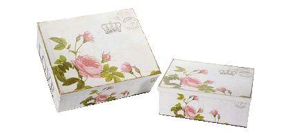 Homey Comb Set 2 cutii depozitare Rose, 149 leiCut