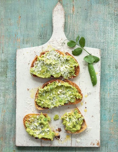 Crushed Beans and Peas on Toast_R