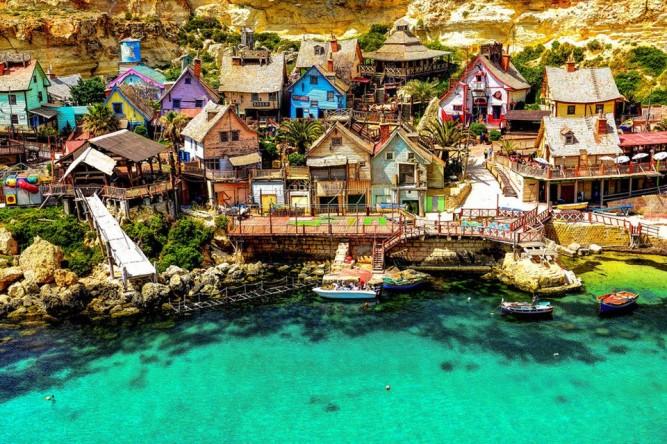 Malta 11 - Popeye Village