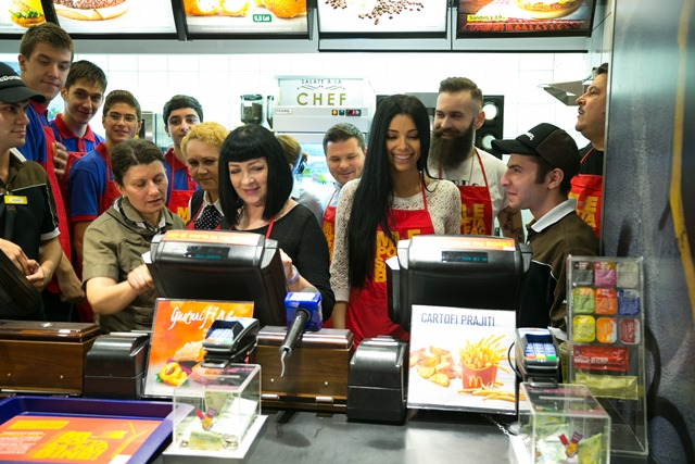 vedete la McDonald's