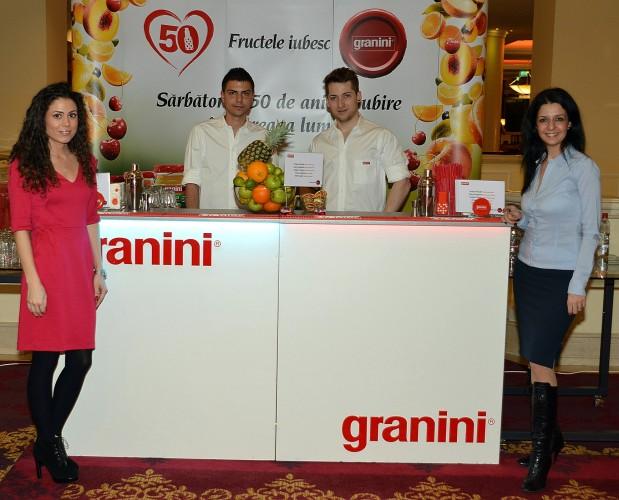 Granini Romania - Georgiana Ionescu, Georgiana Vasile