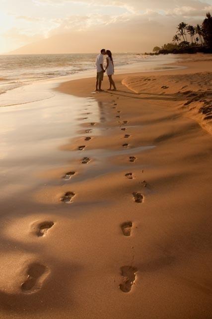 cuplu pe plaja