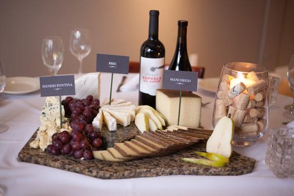 wine and cheese bar