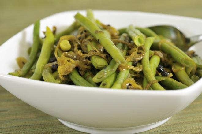 legume verzi cu mustar