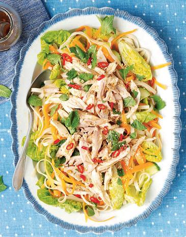 salata de pui in stil asiatic