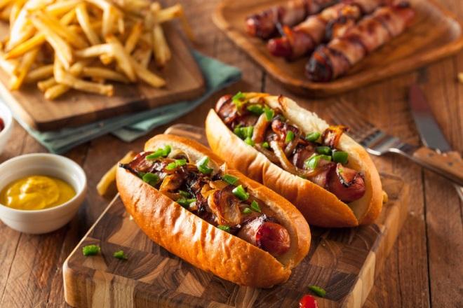 hot dog pe stil nou