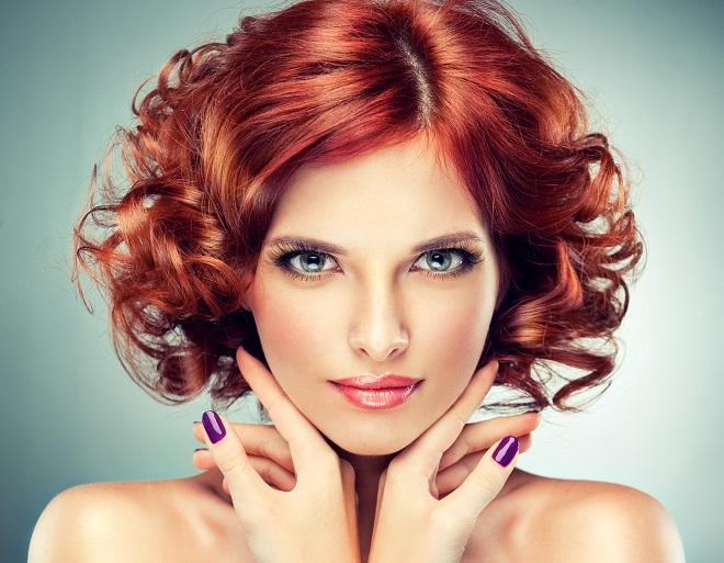 intense red copper - Cum sa-ti faci singura bucle perfecte