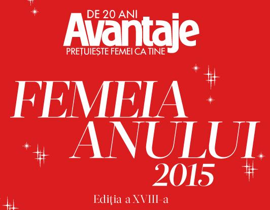 Promo Femeia Anului 2015