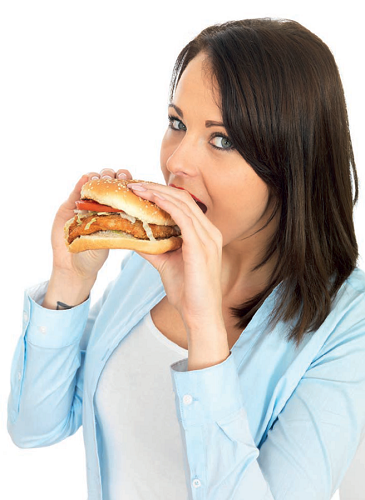 burger dietetic