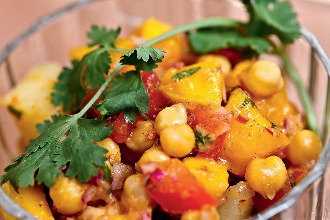 salata de cartofi cu curry