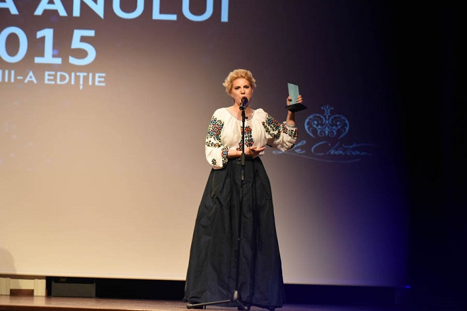 Cristina Chiriac, premiul Femeia Anului 2015, categoria Antreprenoriat la feminin