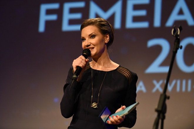 Melania Medeleanu, premiul Femeia Anului 2015, categoria Excelenta in Jurnalism Social