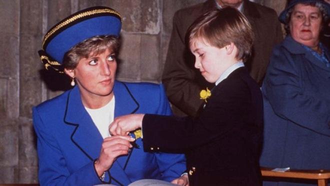 Mesajul lăsat de prințesa Diana fiului ei, prințul William