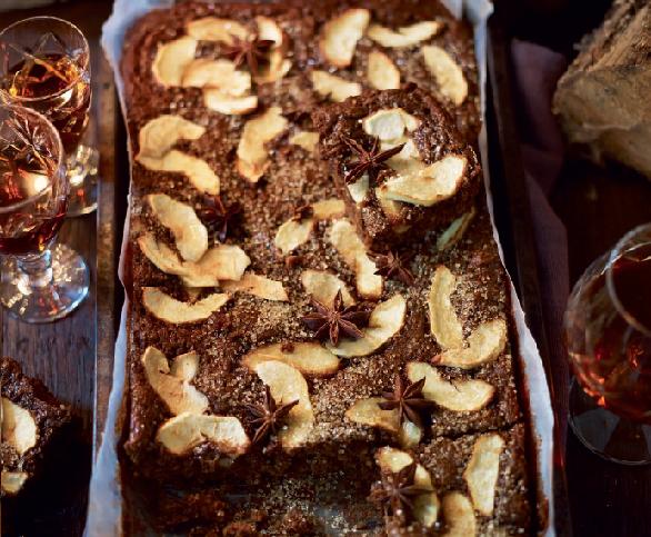 desert cu mere si mirodenii